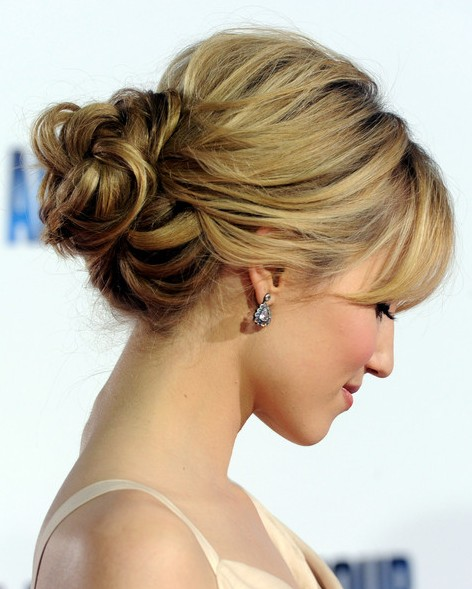 Trends Hairstyles Short Hair Updos