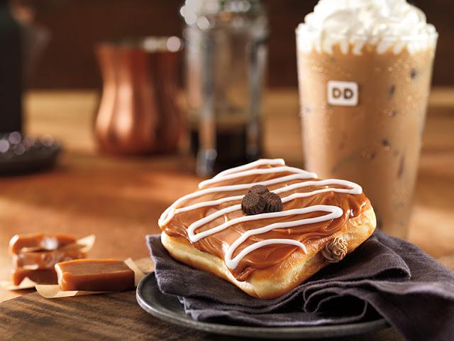 Dunkin' Donuts Carmel Latte Square