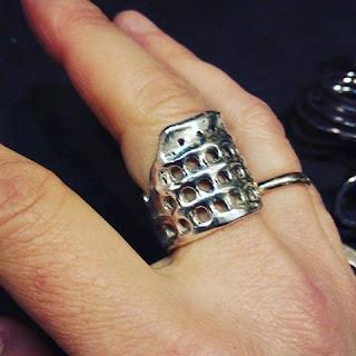 anel coliseu prata ourives trastevere - Um coliseu para chamar de meu - ourivesaria em Trastevere