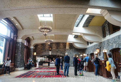 Banff 班芙, Fairmount Spring Hotel