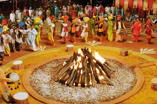 Greeting SMS for Lohri Festival