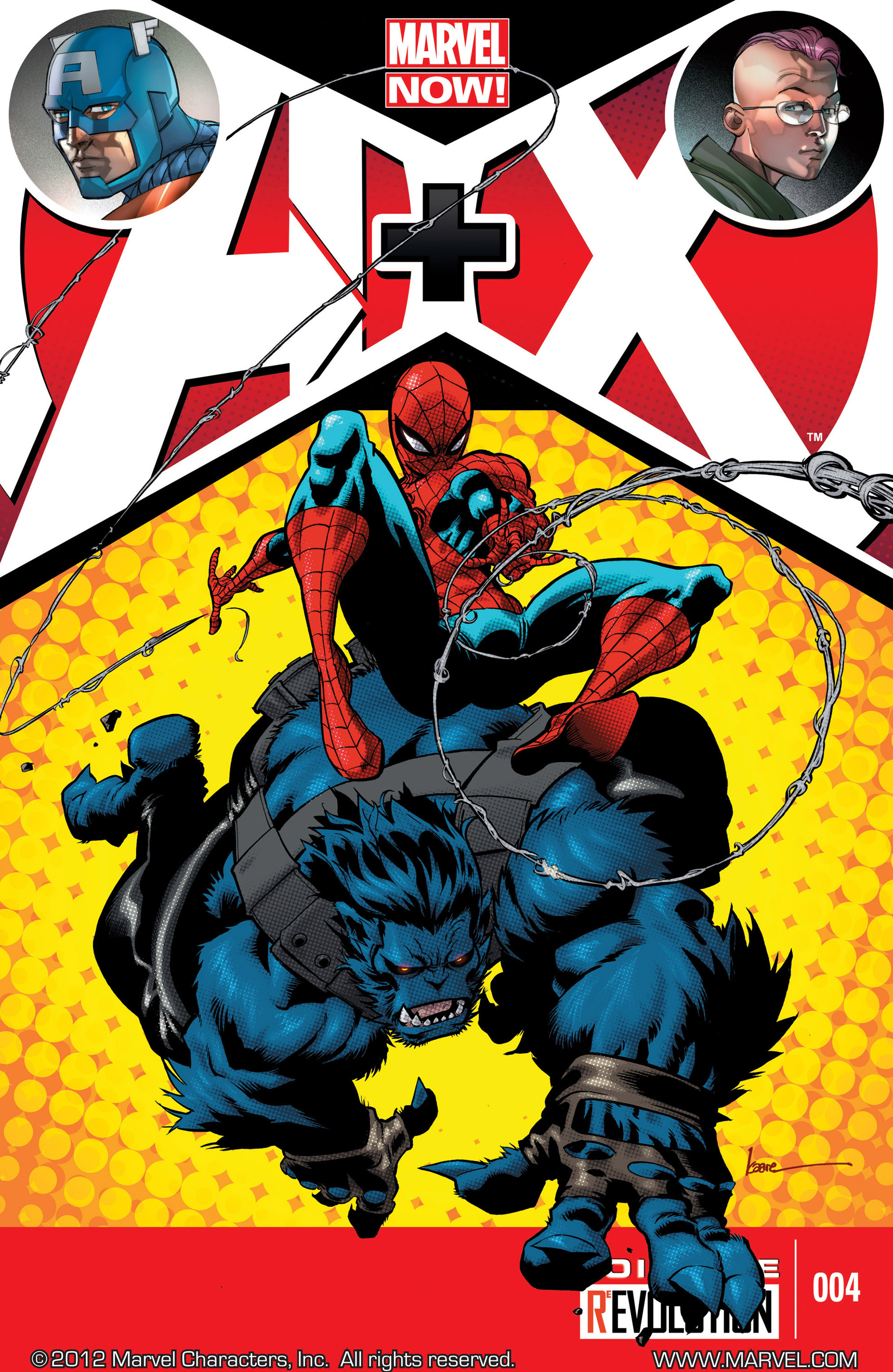 Read online A X comic -  Issue #4 - 1