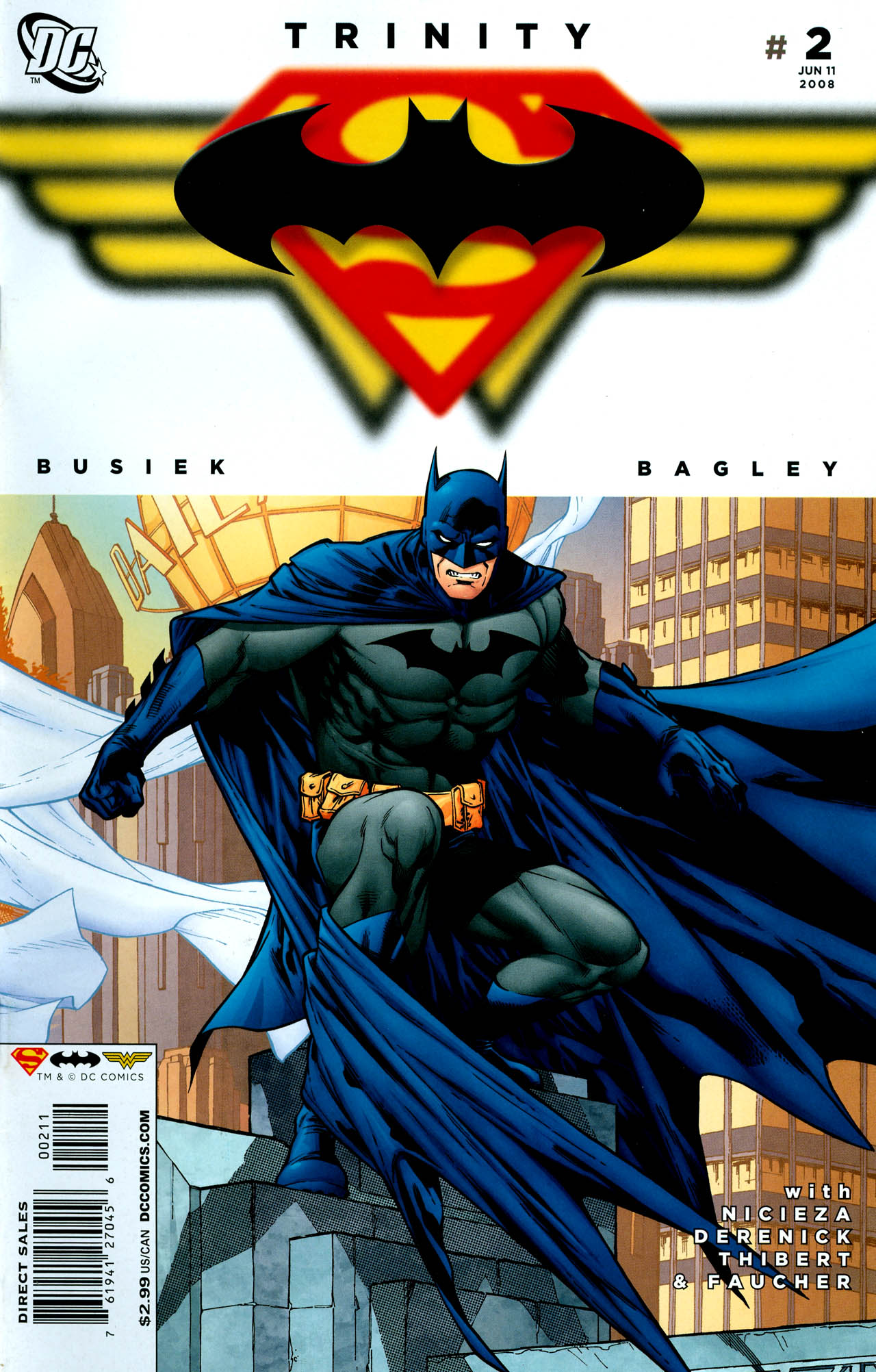 Read online Trinity (2008) comic -  Issue #2 - 1