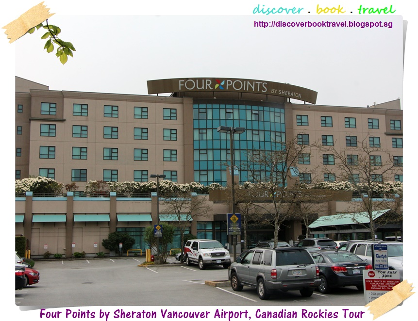 hotel review four points by sheraton vancouver airport. Black Bedroom Furniture Sets. Home Design Ideas