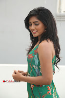 Actress Eesha Latest Pos in Green Floral Jumpsuit at Darshakudu Movie Teaser Launch .COM 0088.JPG
