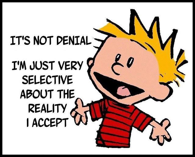 Image result for psychological denial cartoon