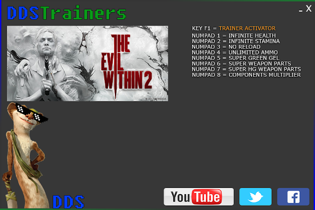 The Evil Within 2 Trainers and Cheats for PC