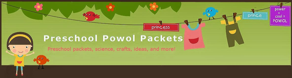 Preschool Powol Packets