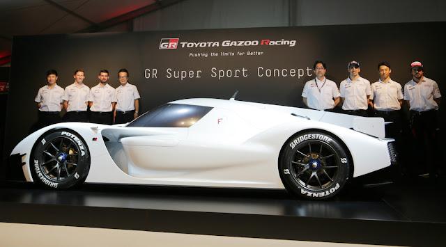 トヨタ GRスーパースポーツ