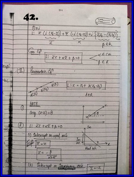 IITJEE Competition Notes On Complex Number 42