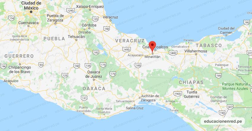 Temblor en México de Magnitud 4.3 (Hoy Martes 24 Diciembre 2019) Sismo - Epicentro - Minatitlán - Veracruz de Ignacio de la Llave - VER. - SSN - www.ssn.unam.mx