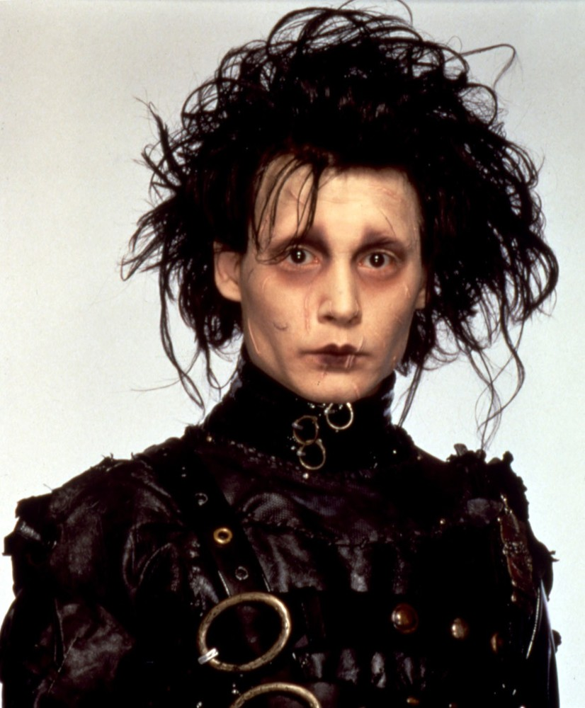 The edward scissorhands the cabinet of