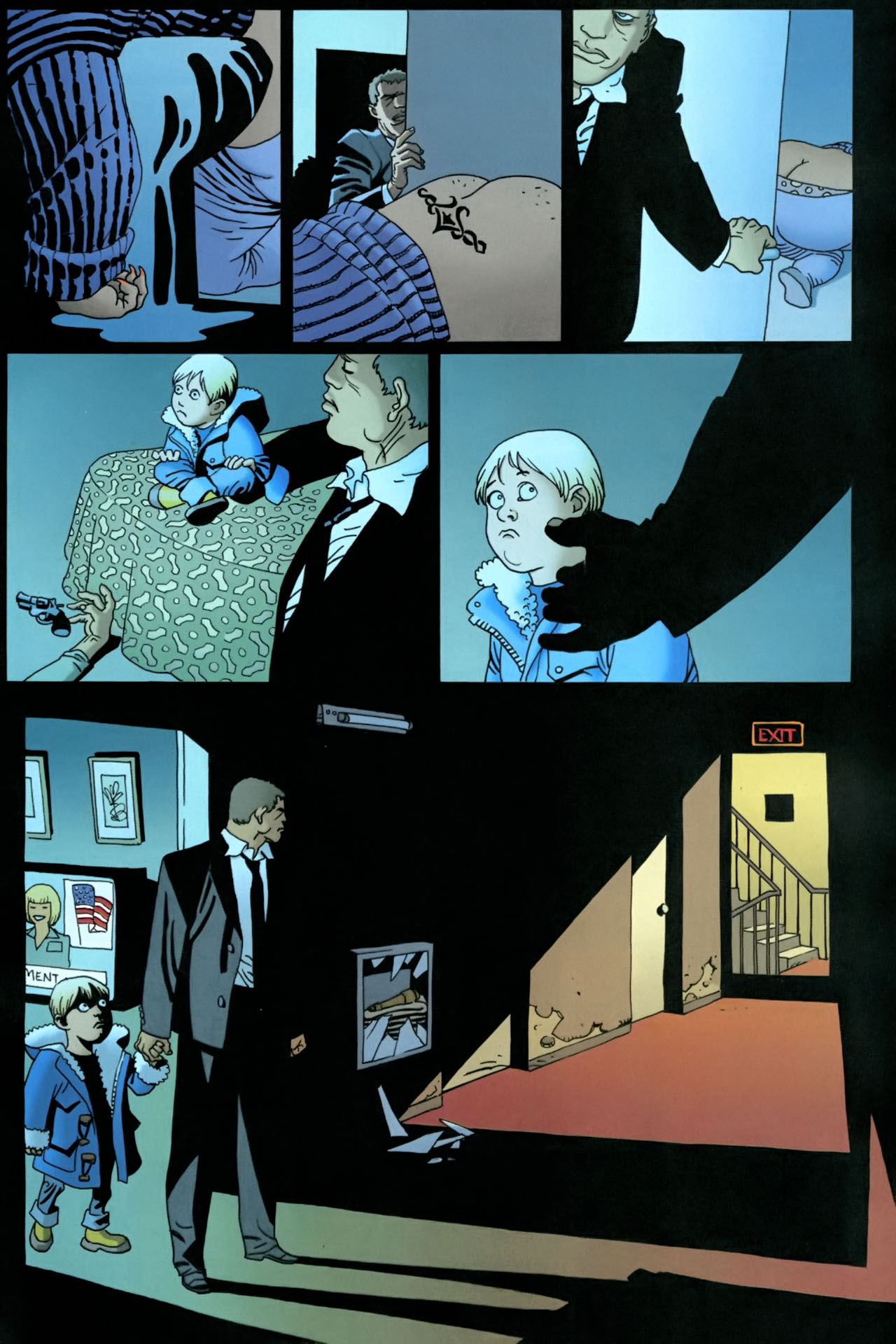 Read online 100 Bullets comic -  Issue #86 - 21