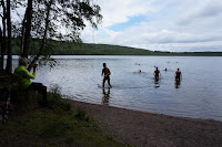 Baignade libre au Lac de Hollola