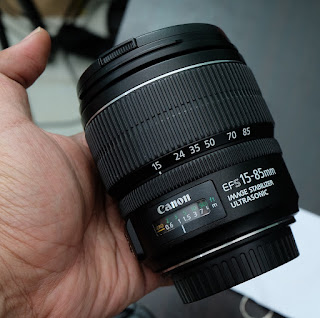 Jual Lensa Canon EFS 15-85mm IS USM