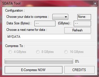 sdata tool rar