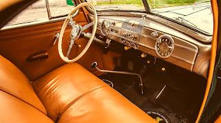 1938 Packard Six Luxury Convertible Dashboard