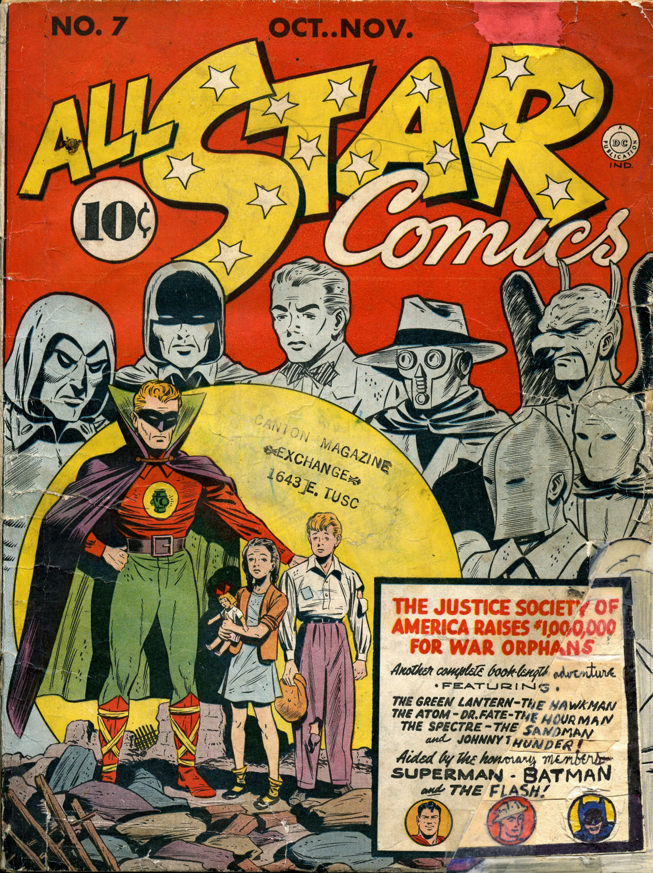 Read online All-Star Comics comic -  Issue #7 - 1
