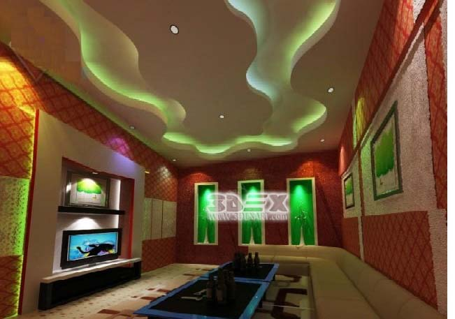 New pop false ceiling designs 2018 pop roof design for for B q living room lights