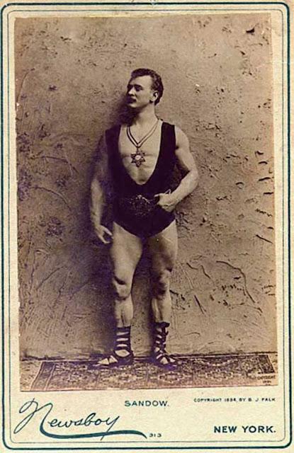 Eugen Sandow, the