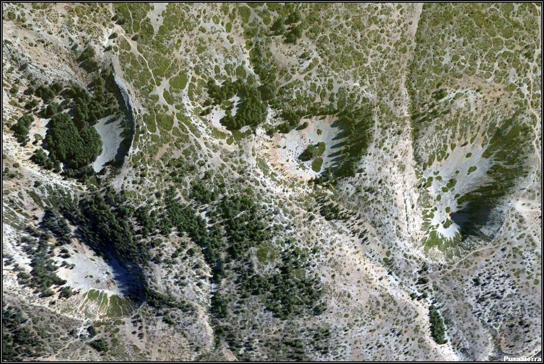 Vista aérea de las Celadas De Villar Del Cobo
