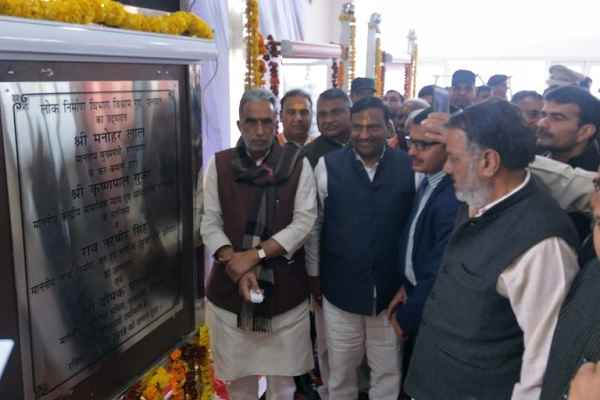 minister-krishan-pal-gurjar-rs-162-crore-ka-vikas-badalta-haryana-news