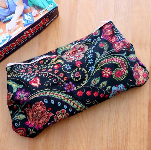 zipper pouch sewing DIY