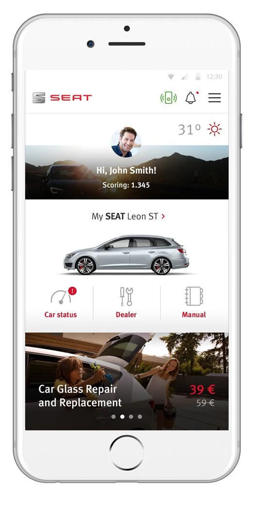SEAT & Accenture bắt phát triển hệ thống kết nối lái xe thông minh
