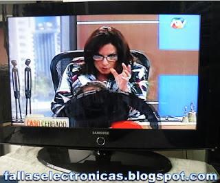 tv lcd samsung no da imagen solo audio