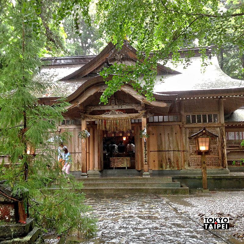 【高千穗神社】1900年歷史的古老神社 每晚有夜神樂舞蹈
