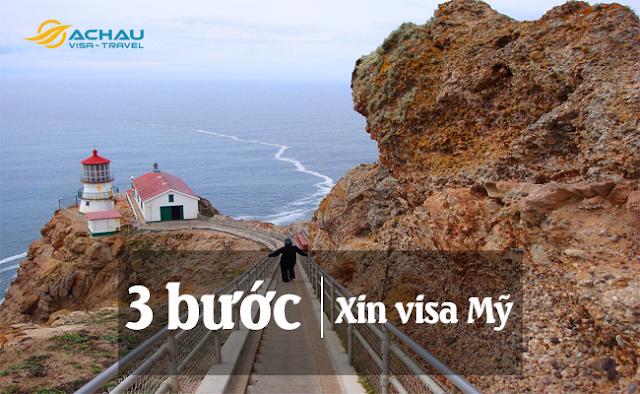 Quy trình xin visa Mỹ đơn giản