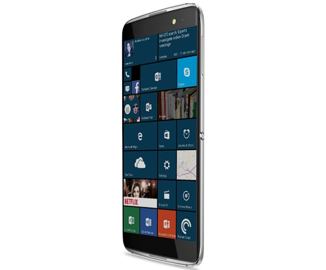 Alcatel Idol 4 Pro berbasis windows 10 dan Idol 4 Mini akan segera rilis