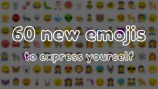 60 new emoji support in Android Oreo