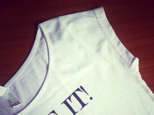 LA CAMISETA 'I LOVE IT!'