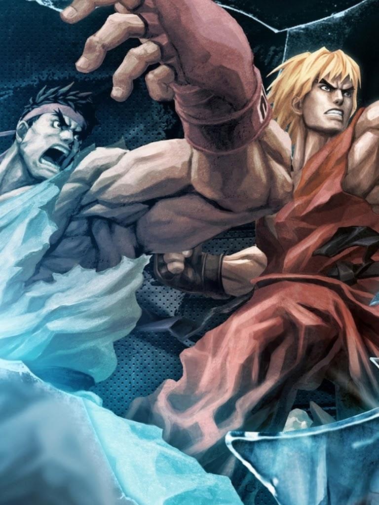 Android Best Wallpapers Tekken X Street Fighter Ryu And Ken
