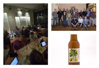 Fotografías de las cervezas presentadas y del día que el jurado de expertos cerveceros se reunió para catarlas