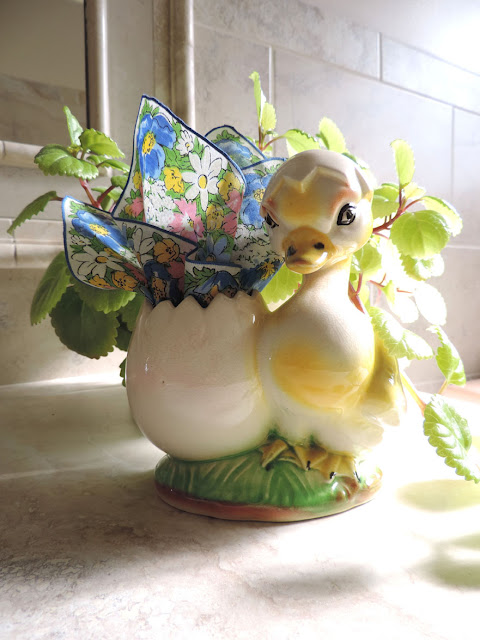 The Hanky Dress Lady Easter bouquet