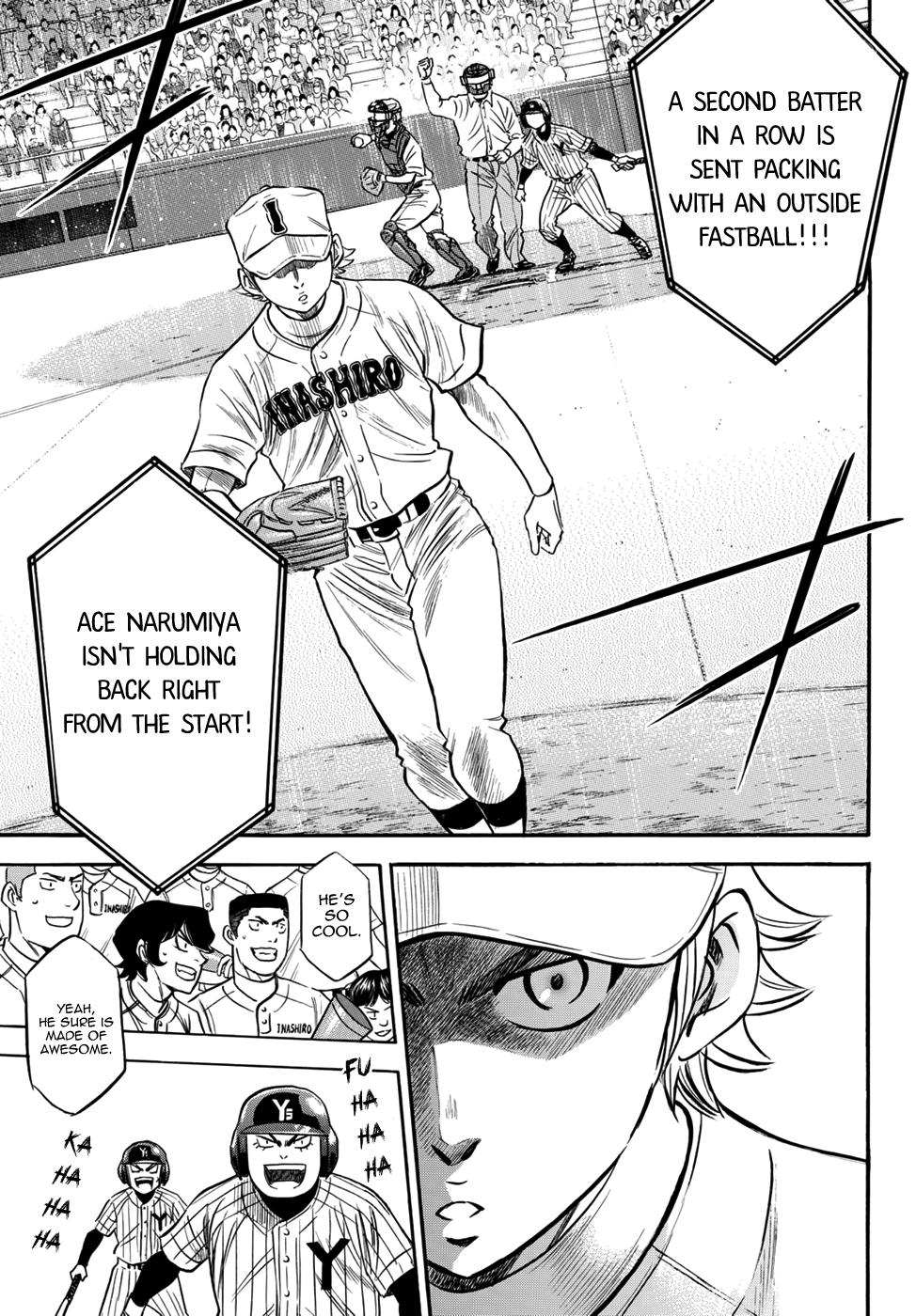 Daiya no A - Act II - Chapter 17