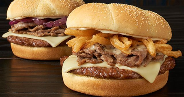 Checkers Rally S Serve Up New Varieties Of Steak Topped Burgers