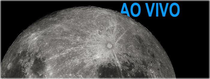 Super Lua de 03 de dezembro ao vivo