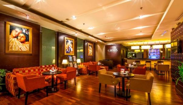 Lounge Hotel Gino Feruci Braga Bandung