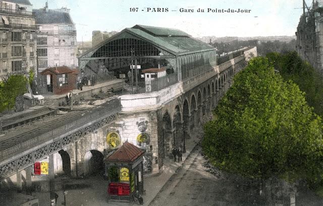 La petite ceinture parijs, oude spoorwegring rond parijs,