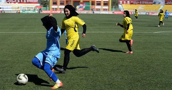 Afghan football chiefs suspended over sex abuse on women's team