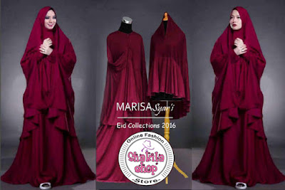 Marisa maxi maron   Jual Baju Marisa maxi maron   Shakila Shop