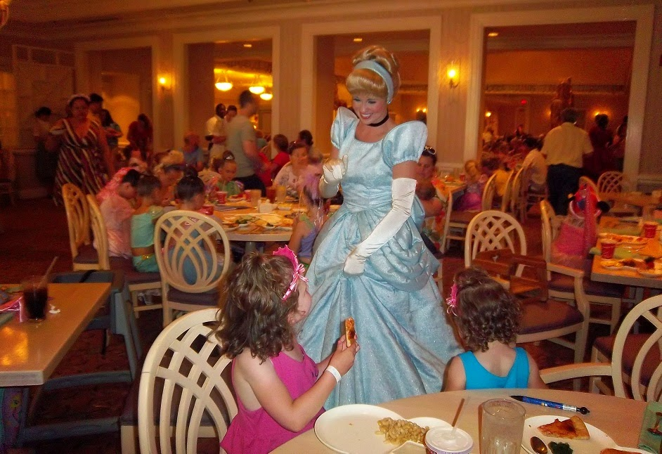 Restaurante 1900 Park Fare na Disney Cinderela