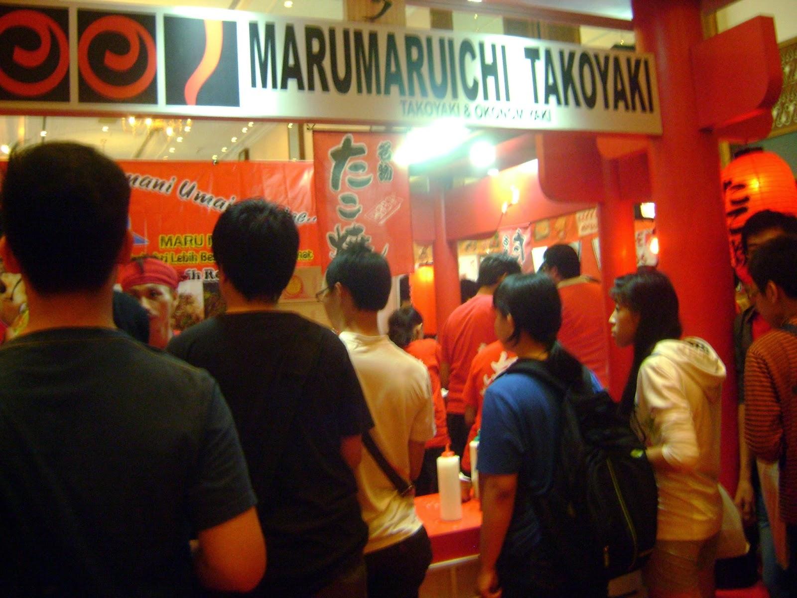 AFA ID 2014 marumaruichi takoyaki stand