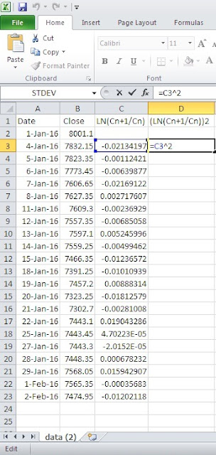 Daily-and-historical-Volatility-Calculation