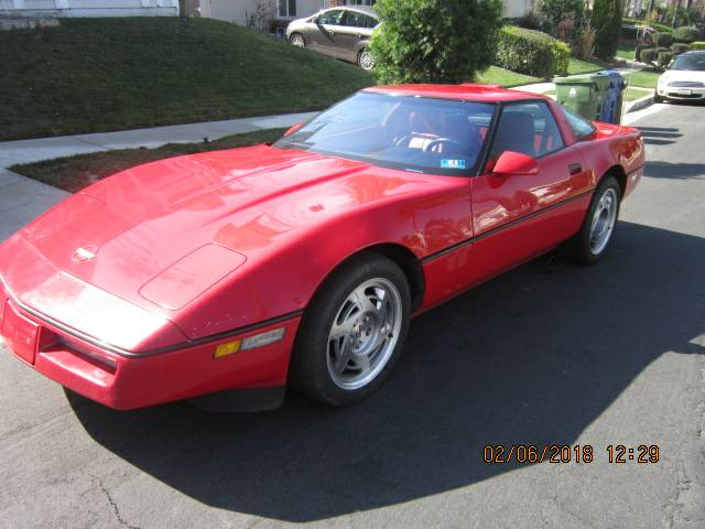 Daily Turismo That S A Lotta Cam 1990 Chevrolet Corvette Zr 1