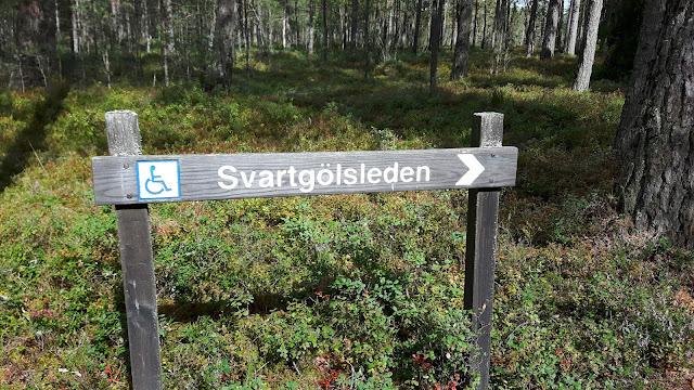 Nationalpark Store Mosse - rollstuhlgeeigneter Wanderweg