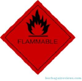 Flammable (Mudah Terbakar) - berbagaireviews.com